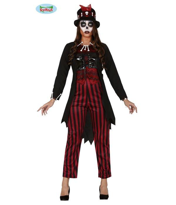 Voodoo Witch kostuum dames