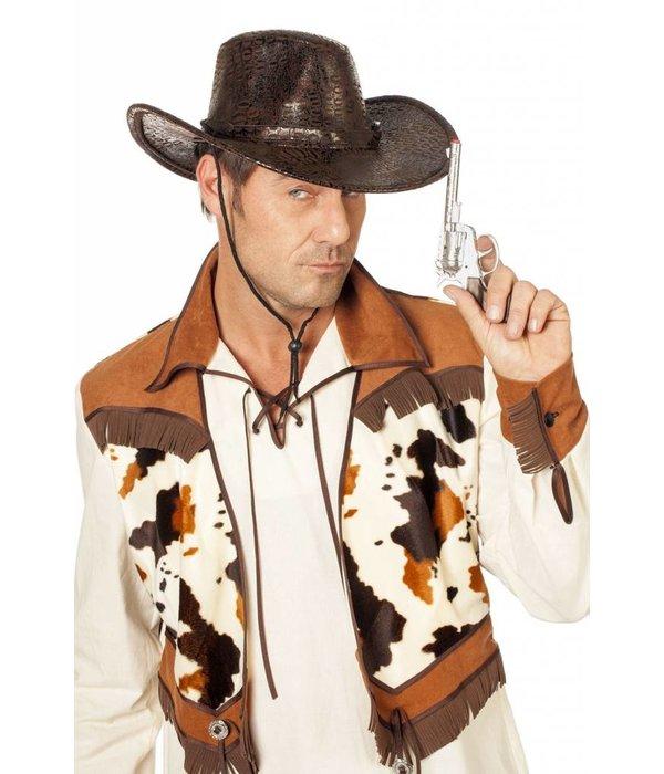 Cowboyhoed luxe bruin