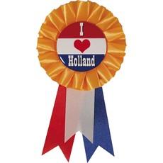 Rozet ''I love holland''