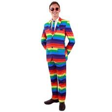 Regenboog kostuum 3-delig