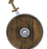 Wapenset schild met zwaard