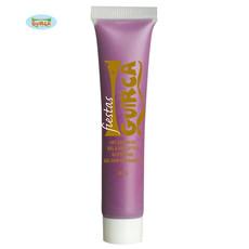 Tube schmink lila