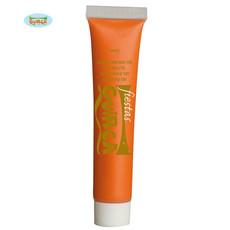 Oranje tube schmink