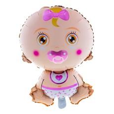 Folieballon baby meisje 69cm