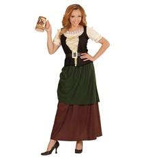 Middeleeuwse Herberg Dame Kostuum