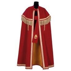 Sinterklaas mantel + stola katoen fluweel