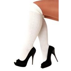 Tiroler sokken wit