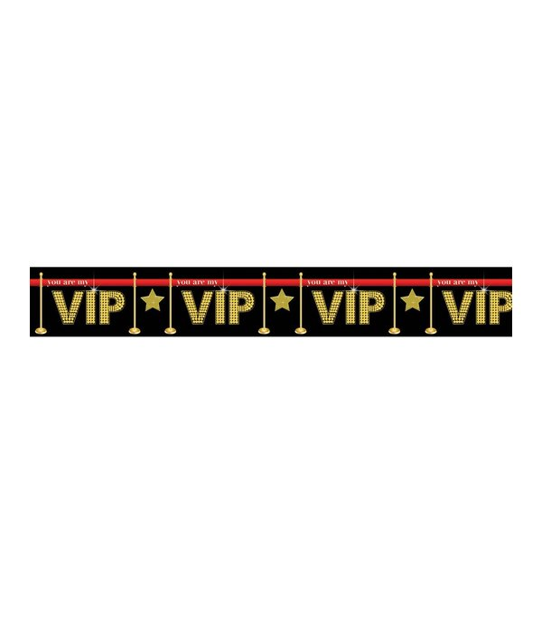 Afzetlint 'you are my VIP'