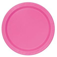 Bordjes Pink 12 Stuks - 18 cm