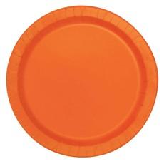 Bordjes Oranje 12 Stuks - 18 cm
