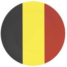 Feestborden België - 23 cm