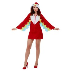 Papegaai kostuum vrouw