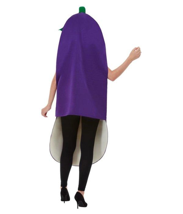 Aubergine kostuum