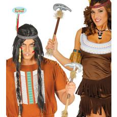 Tomahawk Indianen Bijl Lang