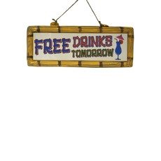 Hangbord Free Drinks