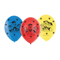 Paw Patrol Ballonnen - 6 stuks