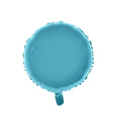 Folieballon Rond Lichtblauw - 46cm