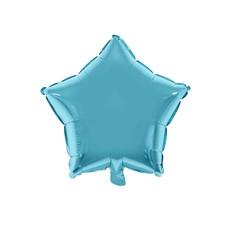 Folieballon Ster Lichtblauw - 46cm