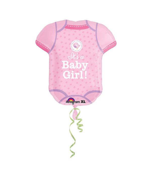 Folieballon Babyshower Rompertje It's A Girl