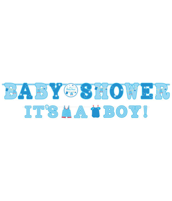2 Letterslingers Babyshower It's A Boy