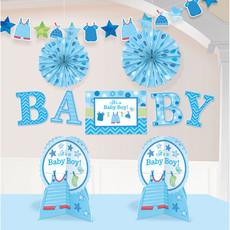 Decoratieset Babyshower It's A Boy - 10-Delig