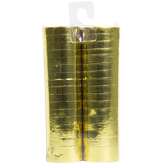 Serpentine metallic goud - 2 rollen