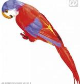 Decoratieve Papegaai rood