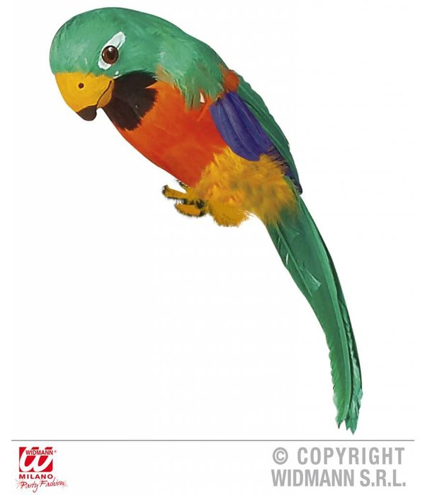 Nep papegaai multikleur