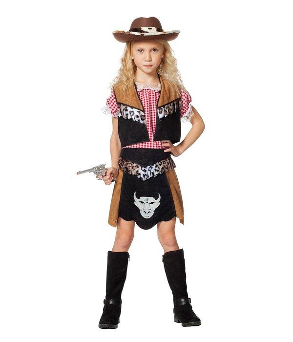 Cowgirl meisje Buffalo