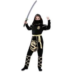Gouden Ninja Kostuum Meisje