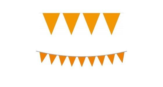 Oranje slingers