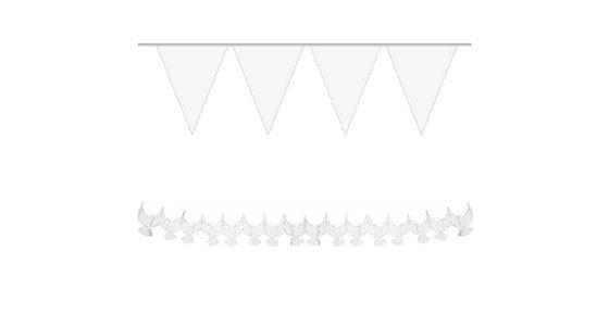 Witte slingers
