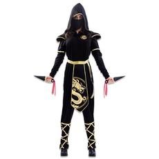 Gouden Ninja Kostuum Dames