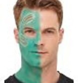 Aqua make-up set Alien met wonden