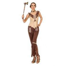 Indianen vrouw kostuum Cherokee
