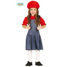 Loodgieters jurkje kind Mario