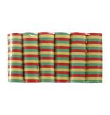 Set 6 Rollen serpentines rood/geel/groen (4 m)