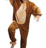 Beren kostuum pluche volwassen