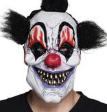 Latex gezichtsmasker Scary clown