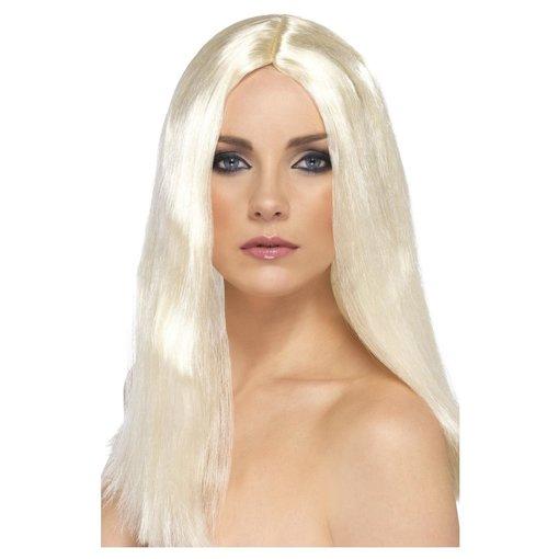 Showbizz Pruik Blond lang