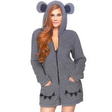 Knuffelende zachte Koala kostuum dames