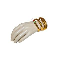 Armband goud slang