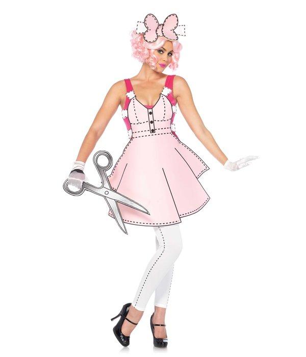 Paper Doll kostuum