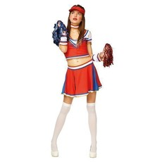 Cheerleader outfit dames 5-delig