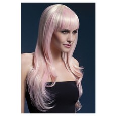 Professionele pruik lang blond candy Sienna