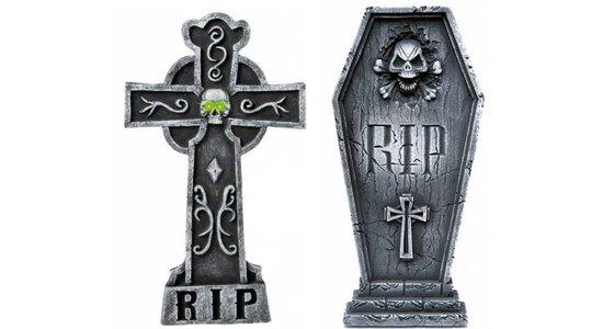 Halloween Grafsteen