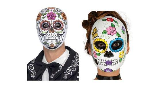 Dia De Los Muertos Masker