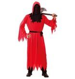 Grim Reaper Dood Kostuum rood Volwassenen