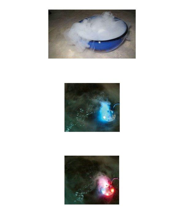 Rookmachine klein Atomizer met LED