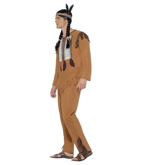 Inheemse Amerikaanse Indiaan kostuum man